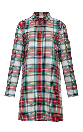 Cotton Utility Collared Button Down Shirtdress by HARVEY FAIRCLOTH Now Available on Moda Operandi
