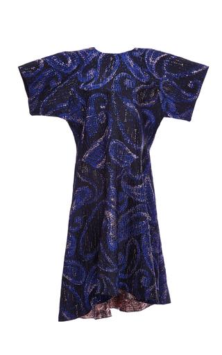 Paisley Jacquard Heroes Drop Waist Dress by ELLERY Now Available on Moda Operandi