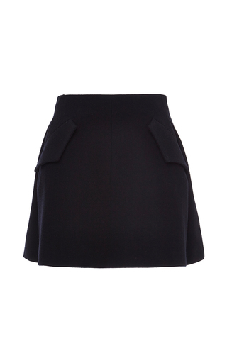 Medium ellery black neoclassicist high mini skirt