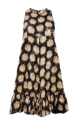 Silk Sunflower Print Tunic Dress by NO. 21 Now Available on Moda Operandi