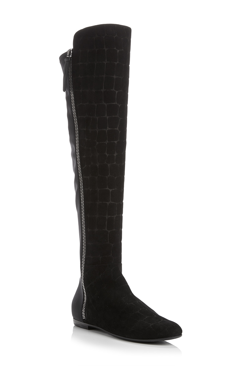 free shipping discount for sale buy authentic online Giuseppe Zanotti Embossed Knee-High Boots sale shopping online free shipping outlet store buy online mL4GZcs2GS