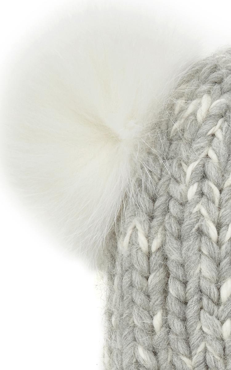 897a255b75a Eugenia KimMimi Wool Alpaca Winter Hat with Double Fur Pom Poms. CLOSE.  Loading. Loading