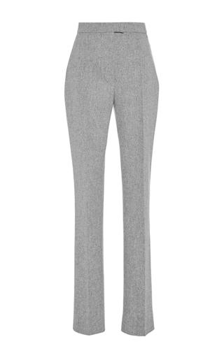 Medium martin grant light grey light grey wool cigarette pant