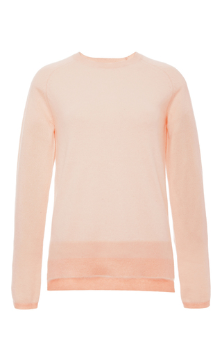 Crew Neck Cashmere Sweater  by DEREK LAM 10 CROSBY Now Available on Moda Operandi