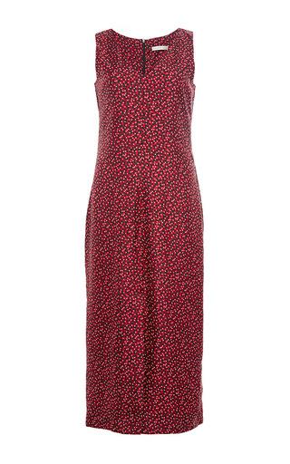 Silk Floral Printed Edith Dress by PIAMITA Now Available on Moda Operandi