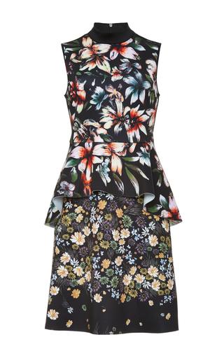 Winter Harvest Peplum Dress by CLOVER CANYON Now Available on Moda Operandi