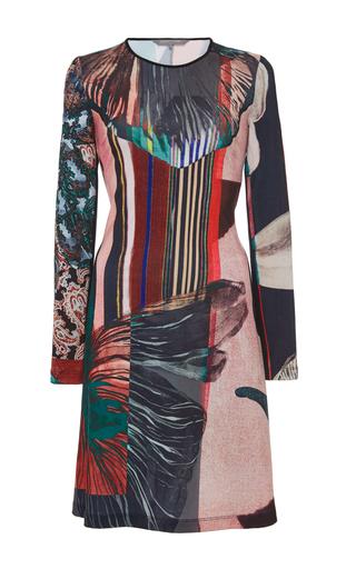 Autumn Stripe Matte Jersey Dress by CLOVER CANYON Now Available on Moda Operandi