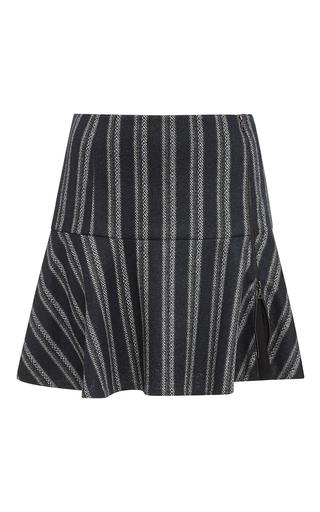 Zip Split Front Mini Skirt by THAKOON ADDITION Now Available on Moda Operandi