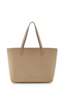 Calf Leather Large Tote In Sand With Sand by MANSUR GAVRIEL Now Available on Moda Operandi