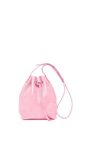 Medium mansur gavriel pink tumble mini mini in peony