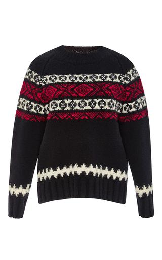 Wool Fair Isle Crewneck Sweater by SUNO Now Available on Moda Operandi