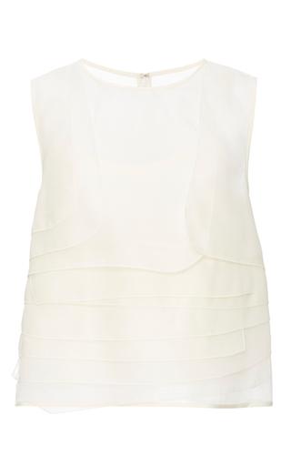 Silk Organza Layered Top by TIBI Now Available on Moda Operandi
