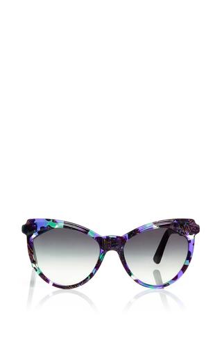Erzulie Oversized Sunglasses by ZANZAN Now Available on Moda Operandi