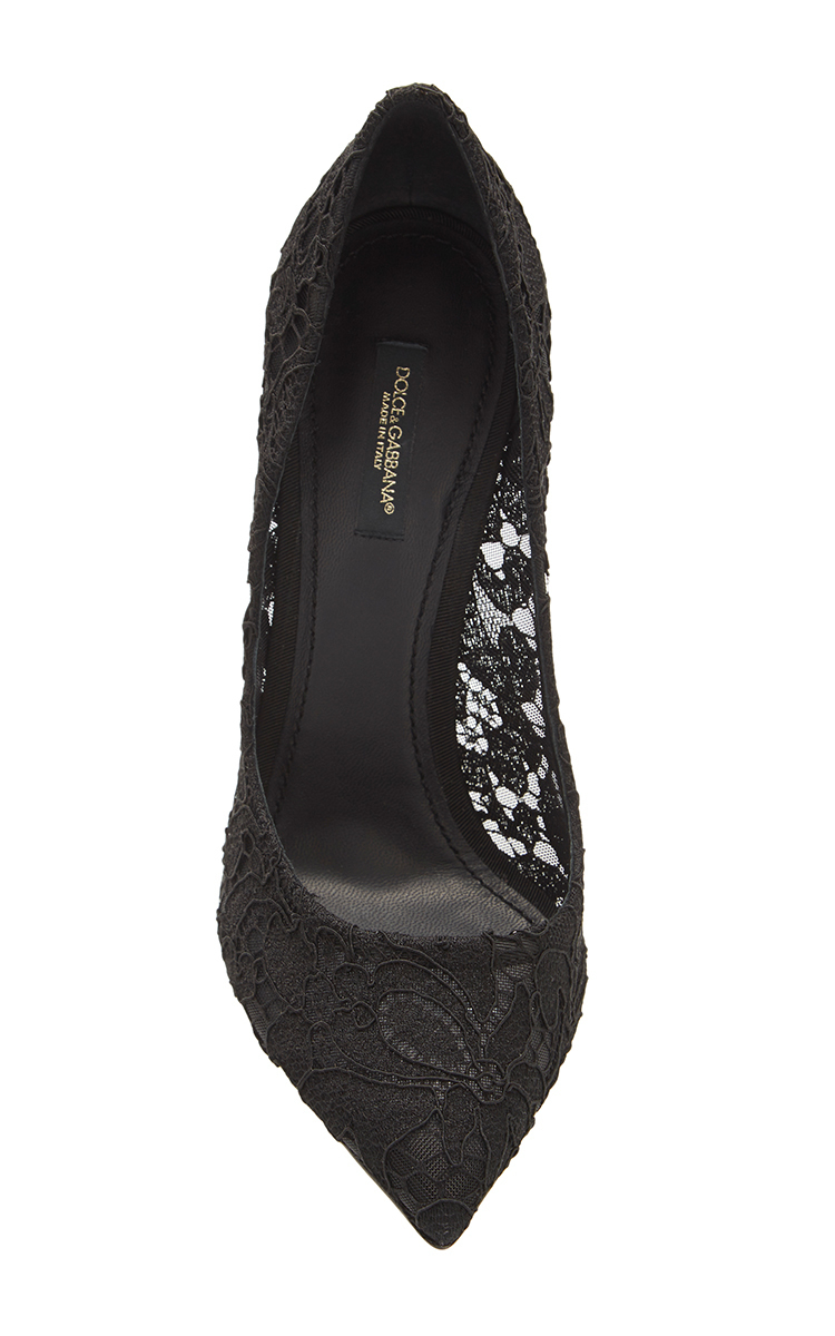 Dolce & Gabbana Lace Pointed-Toe Pumps finishline sale online discount purchase sneakernews clearance good selling m2tEcIPO