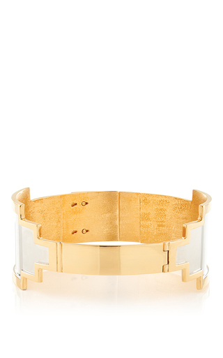 Medium monica sordo gold kavanagh gold choker