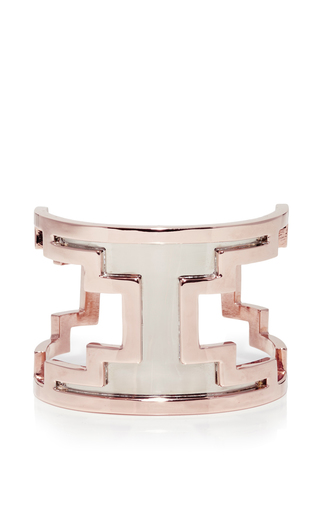 Medium monica sordo rose gold m o exclusive ducane rose gold and ruthenium cuff