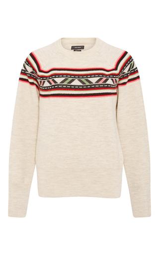 Organic Wool Blake Aspen Knit by ISABEL MARANT Now Available on Moda Operandi