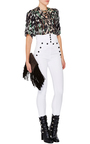 High Waisted Brandebourg Jean Nepos Pants by ISABEL MARANT Now Available on Moda Operandi