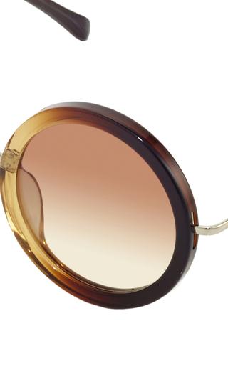 John Lennon Inspired Sunglasses X The Row by LINDA FARROW Now Available on Moda Operandi