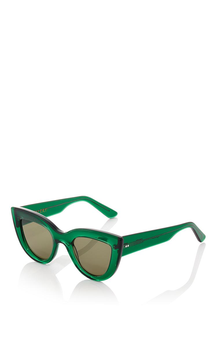 cat eye sunglasses - Green Joseph uJFlvr