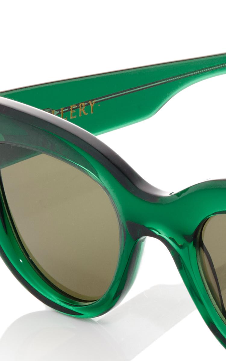 d71fa7268c0c5 ElleryGreen Quixote Cat Eye Sunglasses. CLOSE. Loading. Loading. Loading