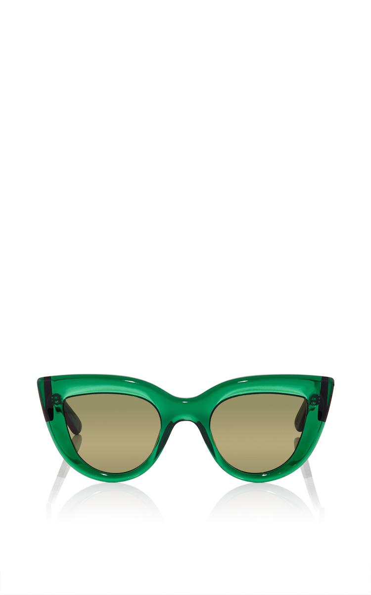 5a60f53264078 ElleryGreen Quixote Cat Eye Sunglasses. CLOSE. Loading