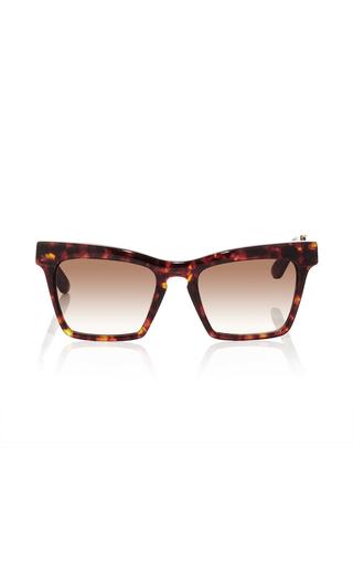 Tortoiseshell Cremaster Angular Unisex Sunglasses by ELLERY Now Available on Moda Operandi