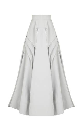 Medium maticevski light blue pleating skirt
