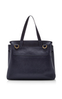 Blue Calf Leather Lady Bag by MANSUR GAVRIEL Now Available on Moda Operandi