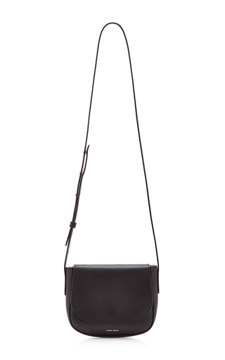 Medium mansur gavriel black black vegetable tanned mini crossbody