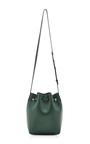 Moss Calf Leather Mini Bucket Bag by MANSUR GAVRIEL Now Available on Moda Operandi