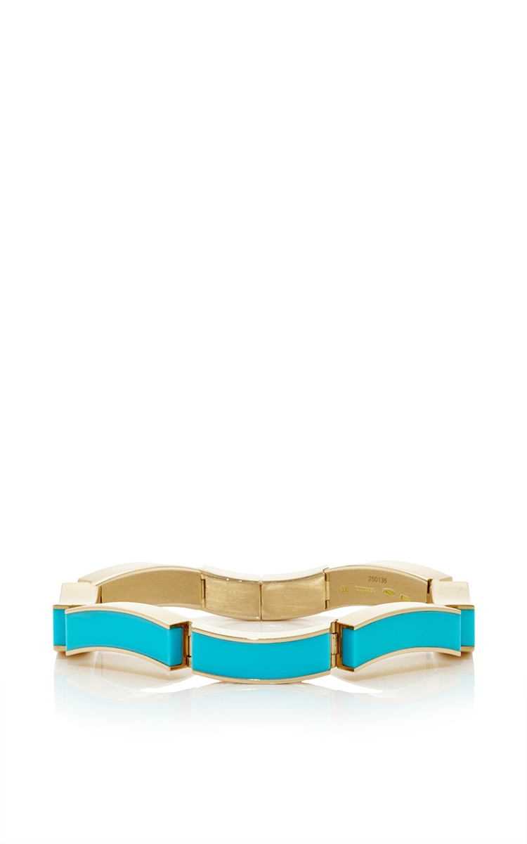 Vhernier Vento Turquoise Bracelet DBouEXnHo