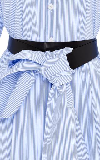 Cotton Striped Palau Shirt Dress by JOHANNA ORTIZ Now Available on Moda Operandi