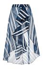 Silk Printed San Sebastian Skirt by JOHANNA ORTIZ Now Available on Moda Operandi