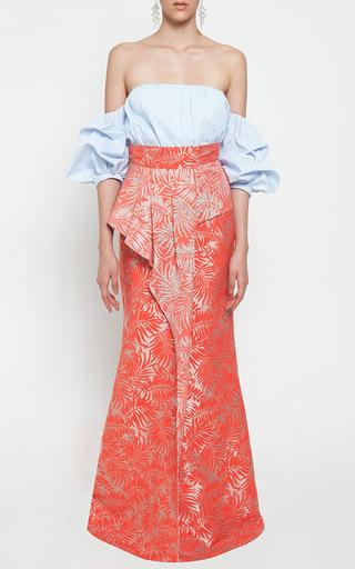 Socotra Embellished Pareo Wraparound Skirt by JOHANNA ORTIZ Now Available on Moda Operandi