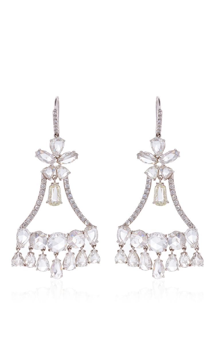 Nina runsdorf rose cut diamond chandelier earrings by nina runsdorf loading arubaitofo Choice Image