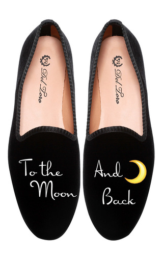 Medium del toro black m o exclusive del toro to the moon and back loafer