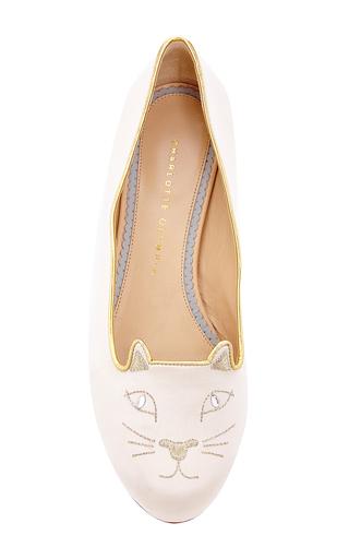 Medium charlotte olympia ivory charlotte olympia kitty flats