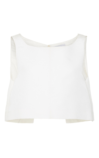 Medium honor white the astrid top