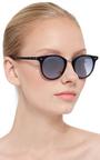 Garret Leight X Mark Mc Nairy Black Acetate Pinehurst Sunglasses  by GARRETT LEIGHT Now Available on Moda Operandi