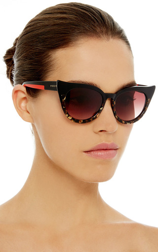 Dutchess Two Toned Cat Eye Sunglasses by PREEN BY THORNTON BREGAZZI Now Available on Moda Operandi