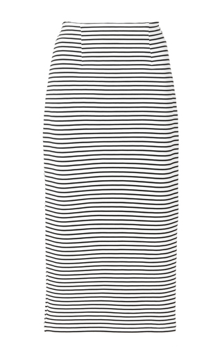 Stripe Trail Skirt by MACGRAW Now Available on Moda Operandi