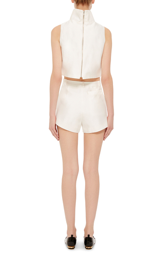 Cotton Silk Nomad Cropped Top by MACGRAW Now Available on Moda Operandi