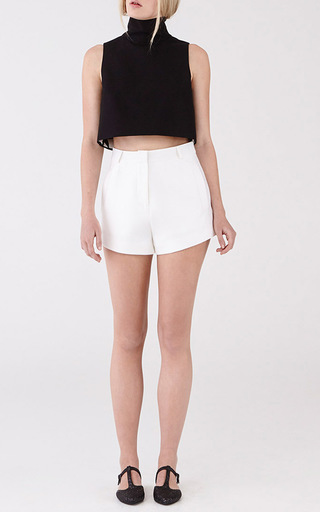 Black Ottoman Nomad Crop by MACGRAW Now Available on Moda Operandi