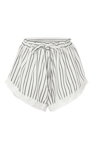 Medium macgraw stripe stripe fountain shorts