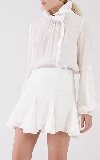 Cream Spot Pecorino Blouse by MACGRAW Now Available on Moda Operandi