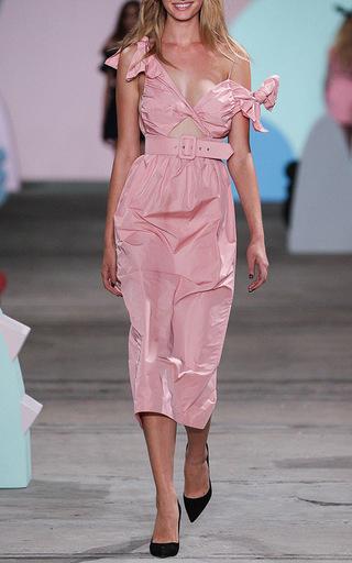 Medium alice mccall pink love is greed dress