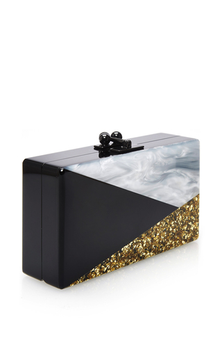 Jean Harlow Art Deco Clutch  by EDIE PARKER Now Available on Moda Operandi