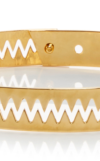 Carnivore Tiny Choker by ANNELISE MICHELSON Now Available on Moda Operandi