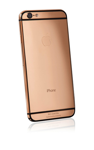 Medium gold genie pink rose gold 64gb iphone 6 elite